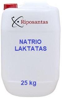 Natrio laktatas