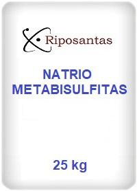 Natrio metabisulfitas
