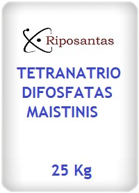 Tetranatrio difosfatas