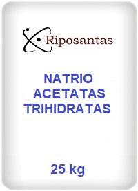 Natrio acetatas trihidratas